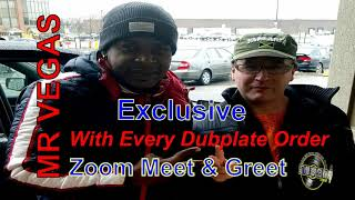 Get Your Mr Vegas Dubplate from DJ Hot Fever & Limited Zoom with Mr Vegas Summer 2020 Specials