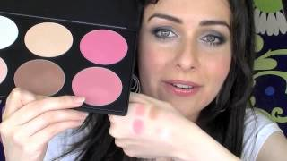Blush Professional Blush and Contour Palette 6 Colour / Color Palette Review with Swatches Thumbnail