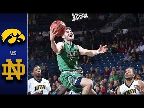Notre Dame vs. Iowa Men