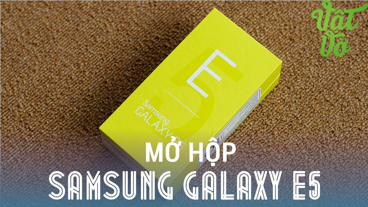 [Review dạo] Mở hộp & đánh giá nhanh Samsung Galaxy E5 – cấu hình tốt, màn hình đẹp, camera ngon