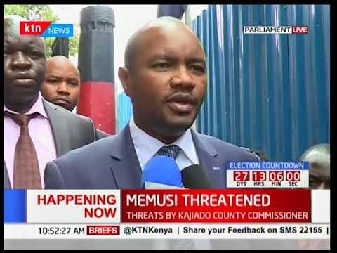 Kajiado Central  MP Elijah Memusi: Kajiado County Commissioner has sent hitmen to kill me