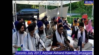002 Toronto July 2017 - Sunday AM - Bibi Puneet Kaur Jee