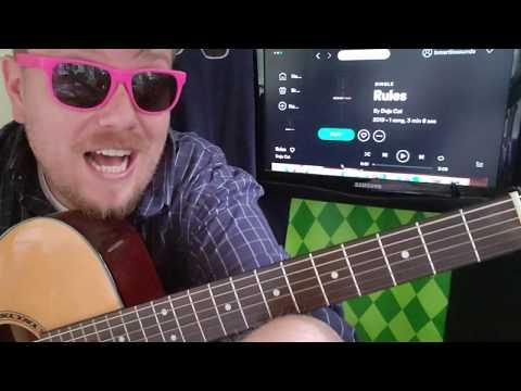Doja Cat Chord Gitar