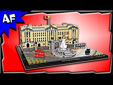 Lego Architecture BUCKINGHAM PALACE 21029 Stop Motion Build Review
