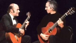 Fernando Sor - Fantasie for 2 guitars, Op. 54  (Julian Bream & John Williams)