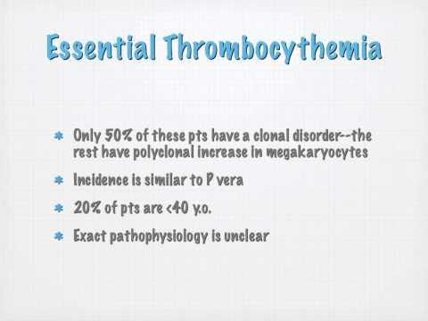 Myeloproliferative Disorders VOPP Dr. Alex - NCD 1 Bastyr