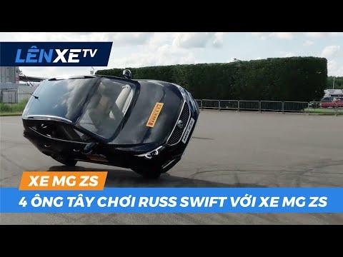 4 ông tây chơi Russ Swift với xe MG ZS  - LÊN XE TV