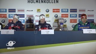 #HOL19 Men's Pursuit Press Conference