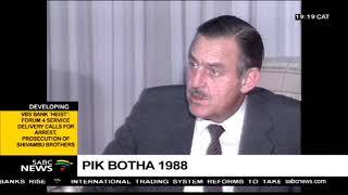 Pik Botha's Lesotho mediation efforts