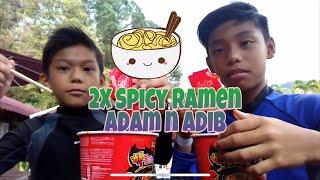 2X Spicy Ramen Challenge Failed!!!! by Adam Adib Rofizlan
