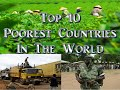 Top 10 Poorest Countries in the World 2019