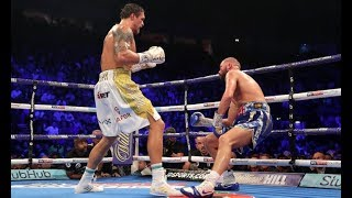 Oleksandr Usyk knocks out Tony Bellew in round 8 | Review | No footage