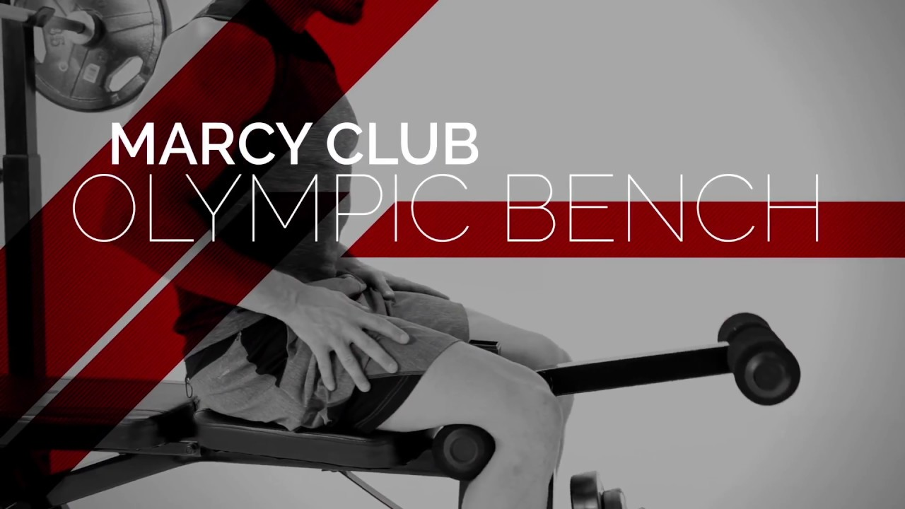 Marcyclub Olympic Weight Bench Mkb 733 Marcy Pro