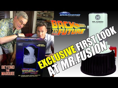 Back to the Future  Mr Fusion Prop Replica with Bob Gale  BTM Ep77