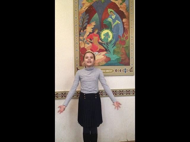 Изображение предпросмотра прочтения – МарияМарченко читает произведение «Перед весной бывают дни такие» А.А.Ахматовой