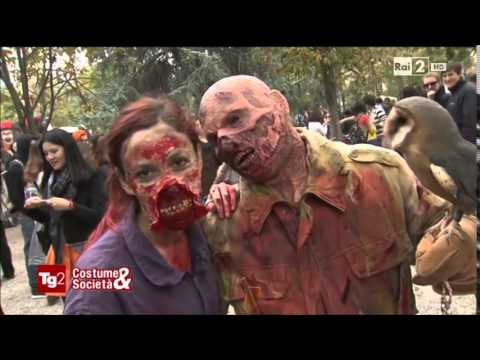 The Zombie Walk Milano 2014 - Servizio TG2 Costume e Società