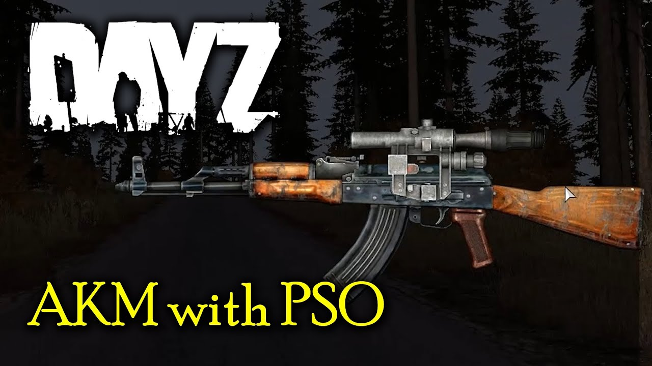 how to look through a scope on dayz