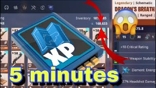 how to get more than 150K Schematic XP in Fortnite Save The World