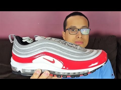 MOST SLEPT ON AIR MAX!? Nike Air Max 97 Pure Platinum University Red 2018 Review!