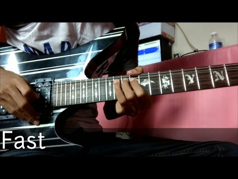 Projector Band - Pasti Ada Kamu Guitar Solo Lesson (By Soleyhanz)