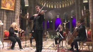Paganini concerto no.1 Adagio - Frederic Moreau, violin & Les Violons de France