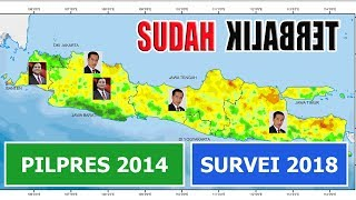 5 Survei Elektabilitas Prabowo Jokowi di 5 Provinsi Sebelum Penetapan Capres