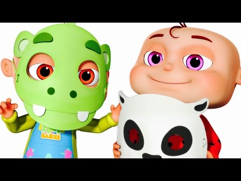 Five Little Babies Wearing Mask | Five Little Babies Collection | Zool Babies Fun Songs