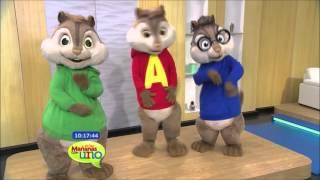 Alvin y las Ardillas, Una Aventura sobre ruedas en salas de cine del país