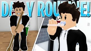 Sharing My DAILY ROUTINE! - Day to Day Life in my Roblox Bloxburg Real Life Apartment!