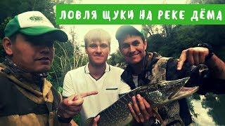 Ловля щуки на реке Дёма