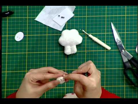Como hacer souvenirs para ni os oveja 2da parte youtube - Como hacer una oveja ...