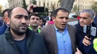Bakının mərkəzində piketə cəhd- Polis etirazçıları saxlayır