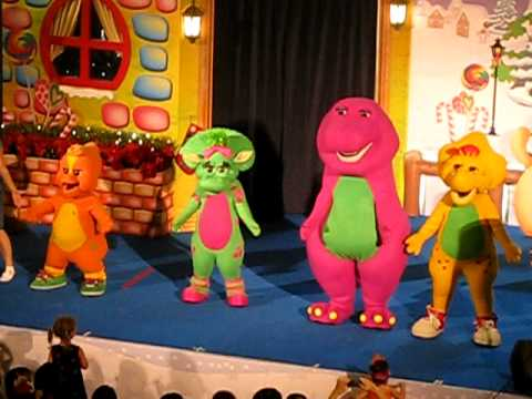 Barney & Friends 'live' at United Square - If All The Raindrops