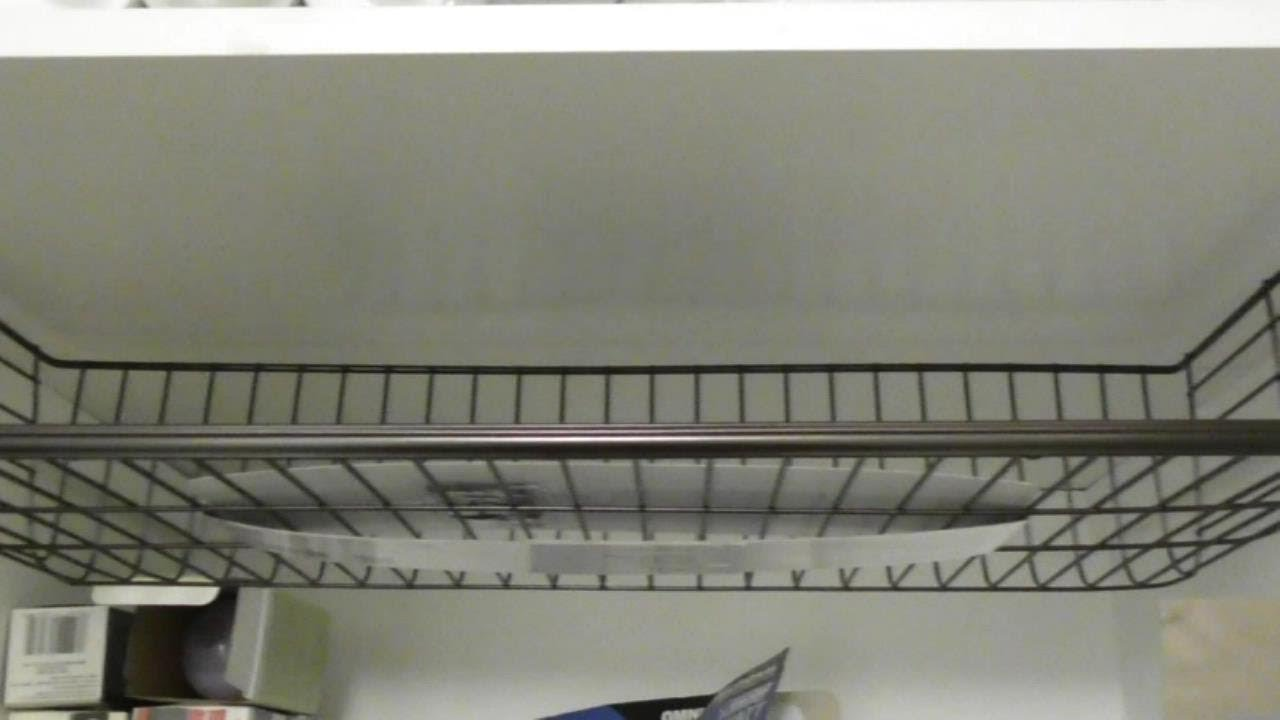 Under Shelf Storage Spectrum Diversified Ashley Large Cabinet Shelf Basket  REVIEW