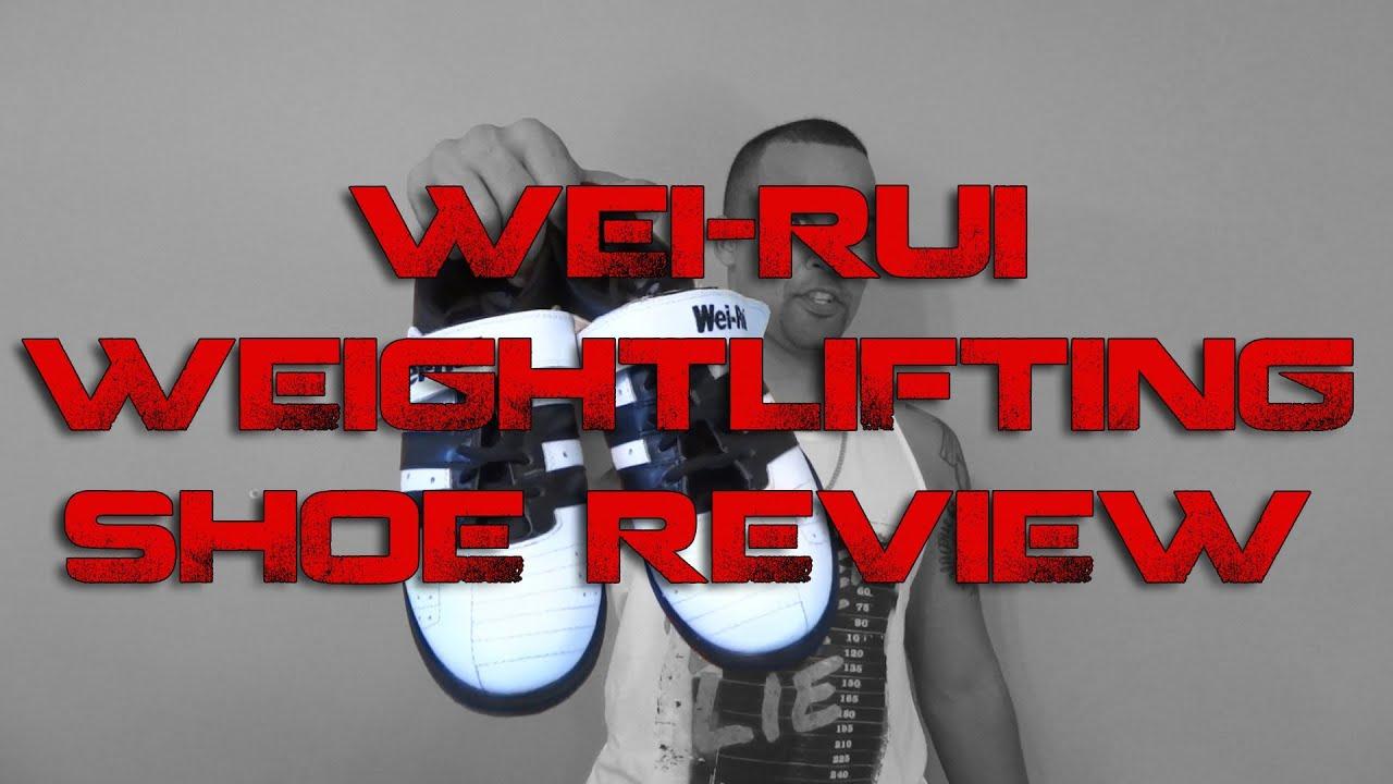 89d8e5e855be Wei-Rui Weightlifting Shoe Review - YouTube
