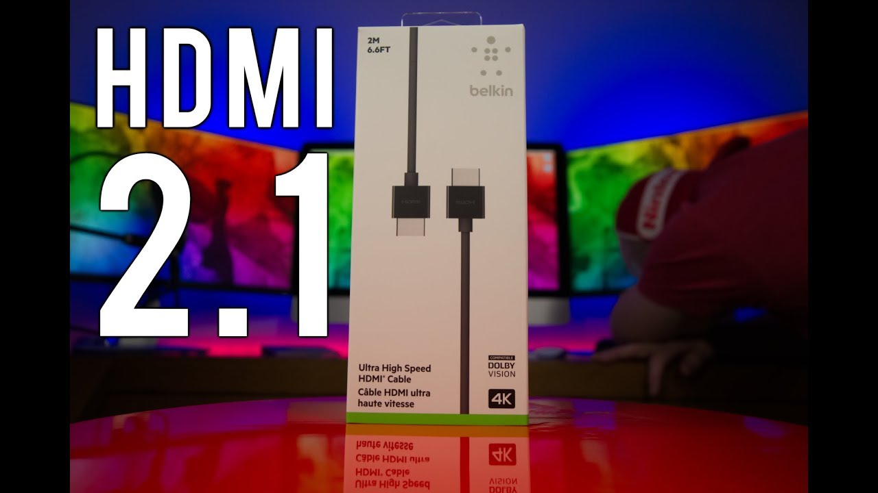 Hdmi 2 1 Hands On The World S First Ultra High Speed 48
