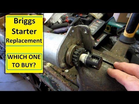 Briggs starter replacement Vanguard POWER