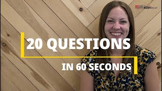 20 Questions with Courtney Webster