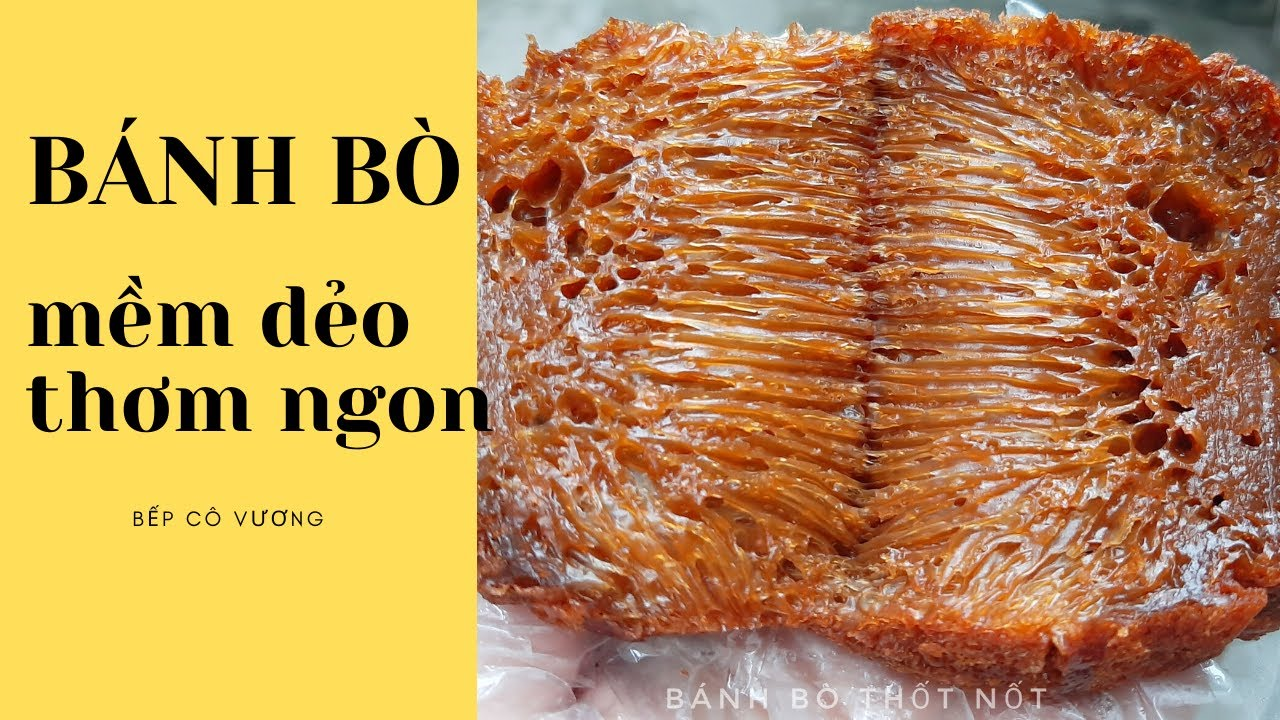 Cách Làm Bánh Bò Thốt Nốt Thơm Ngon Mềm Dẻo| Bếp Cô Vương