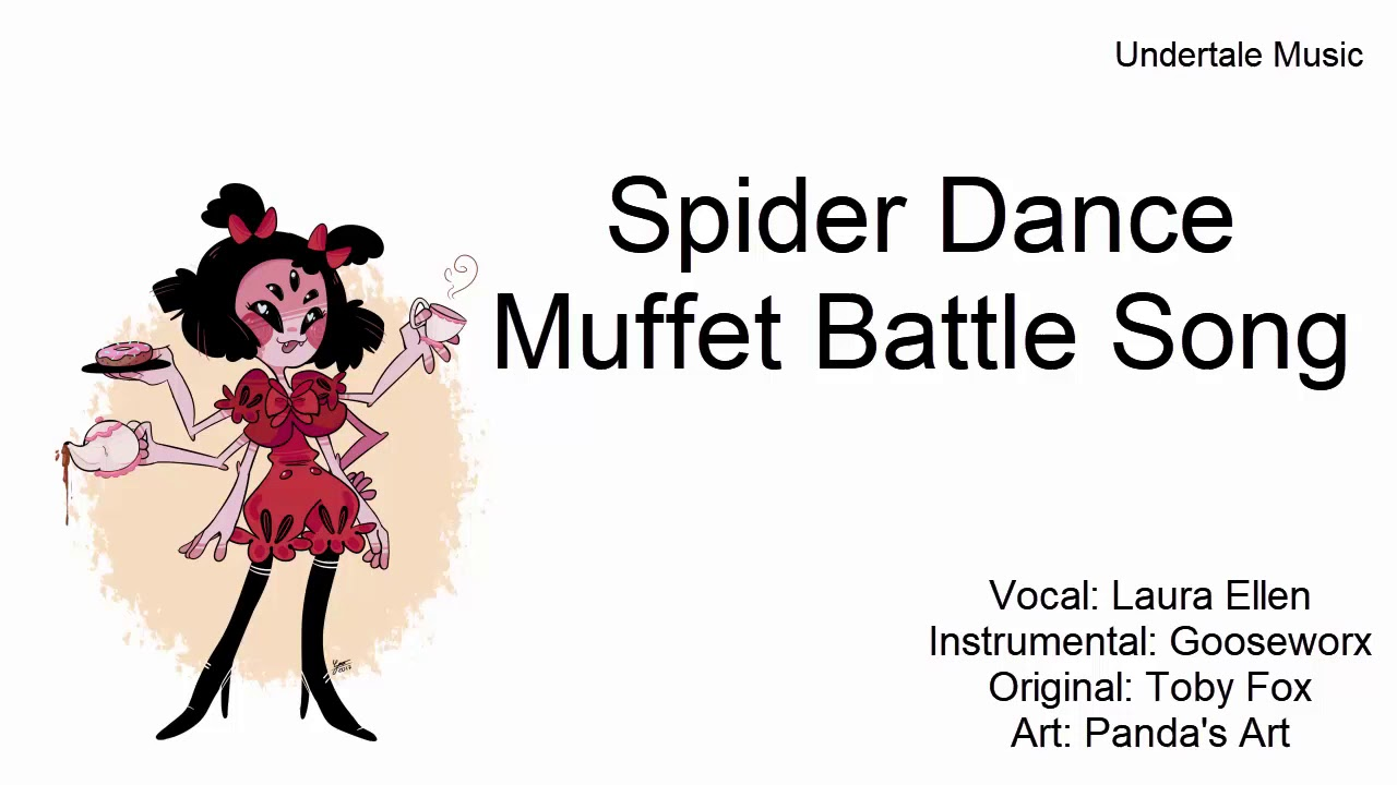 Muffet Song- Spider Dance [Undertale Song]