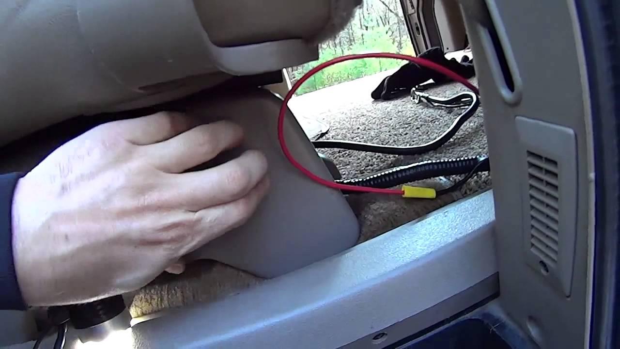 Chevy Astro Camper Van Battery Part 2