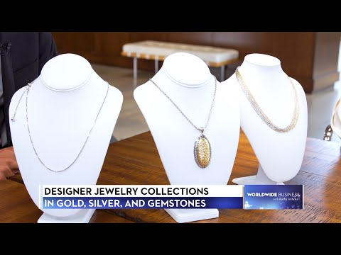 Roma Designer Jewelry featured on Worldwide Business with kathy ireland®