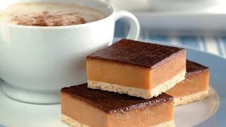 Chocolate Caramel Slice (just Like The Cafe / Cake Shop) - Recipe