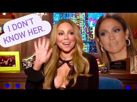 Mariah vs Jlo - I don't know her.