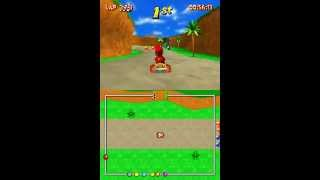 Diddy Kong Racing DS (NDS Gameplay)