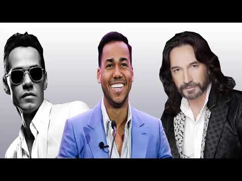 Romeo Santos , Marc Anthony, Marc Antonio Solis Exitos ROmánticos