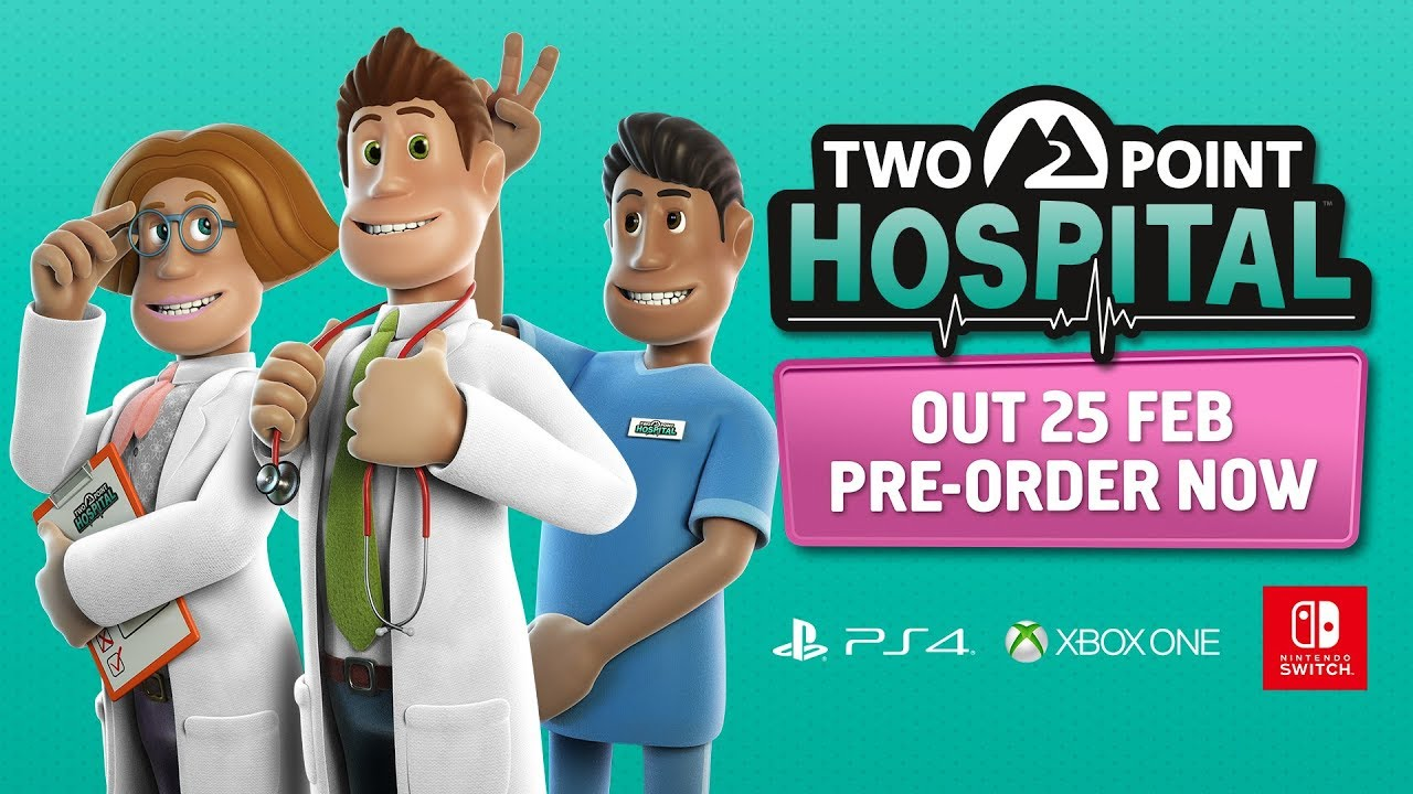 Two Point Hospital Console – The Developers Play!