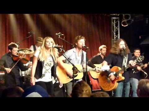 Miranda Lambert, Dierks Bentley and Jamie Johnson Private Party at CMA Fest
