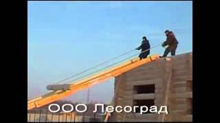 видео Где заказать постройку деревянного дома