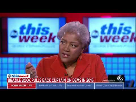 Donna Brazile tells critics of her book to 'go to hell' in explosive interview with Stephanopoulos
